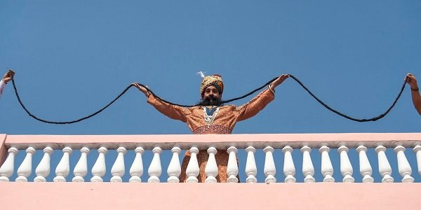 World's Longest Mustache Man is from India