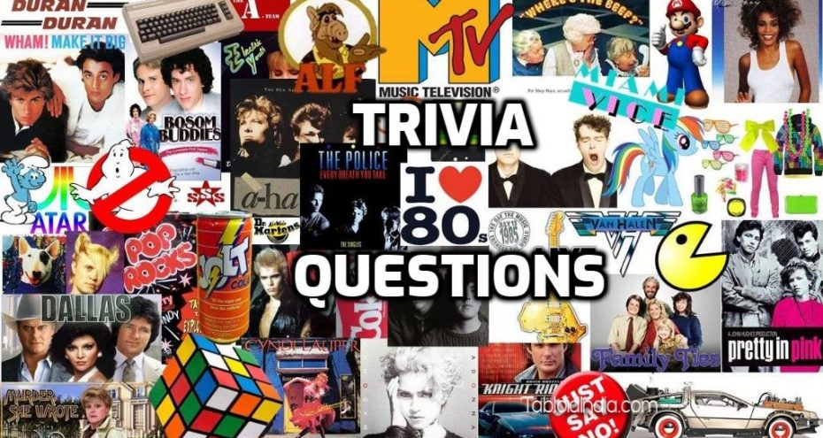 1980s Cultural Trivia Questions and Answers