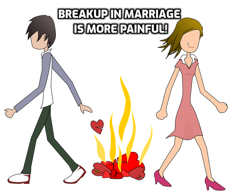 Breakup in live-in is comparatively easy to deal with