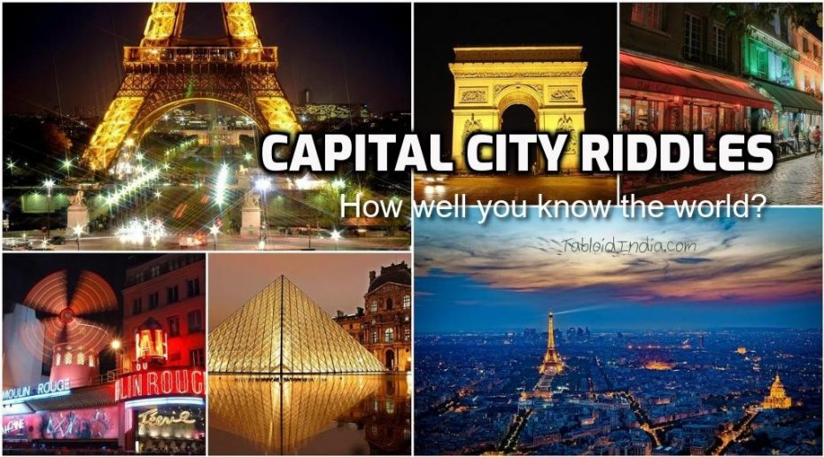 Capital City Riddles with Keys