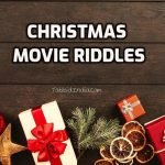10 Christmas Movie Riddles with Cryptic Keys