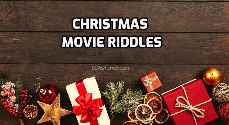 Christmas Movie Riddles with Cryptic Keys