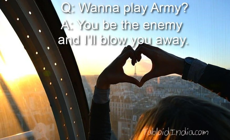 Dirty pickup line for girls - picture quote 2