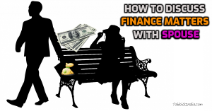 How to discuss finance matters with spouse