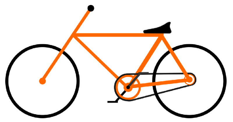 Exercise with bicycle