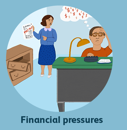 Financial pressure in marriage