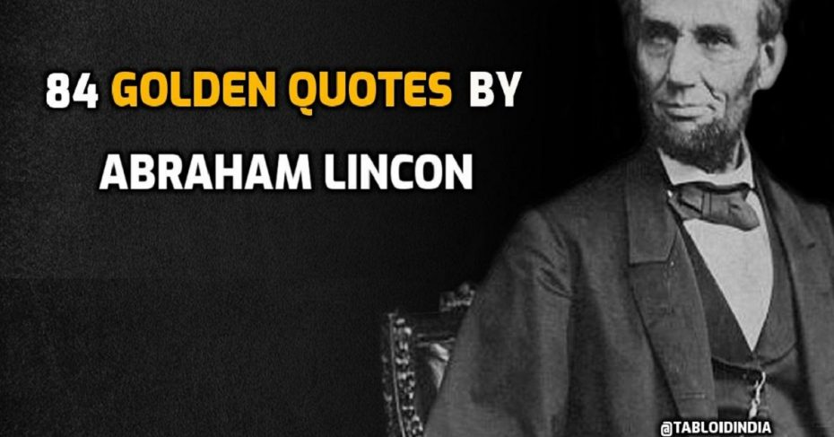 80 Golden Quotes by Abraham Lincoln