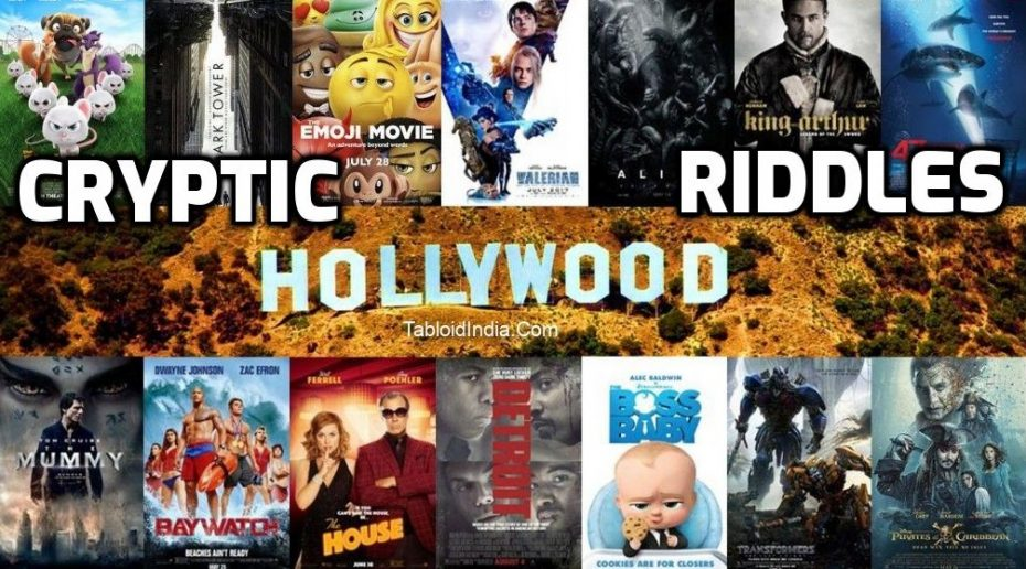 Guess the Hollywood Movie Riddles