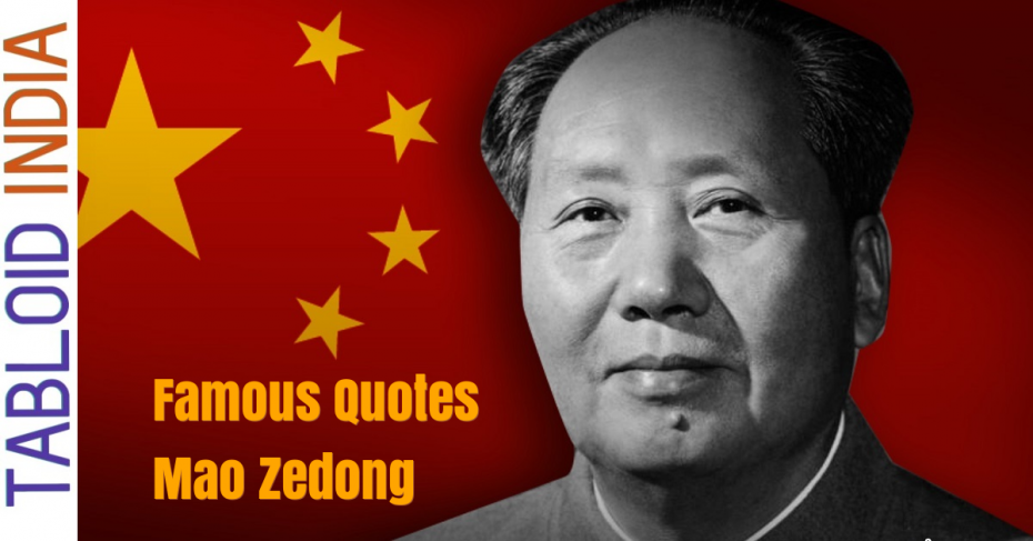 Quotes by Chinese Revolutionary Mao Zedong