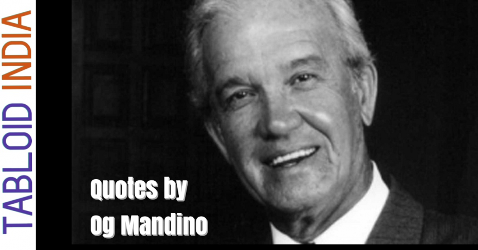 Quotes by American Author Og Mandino