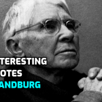 Most Beautiful Quotes by American Poet Carl Sandburg