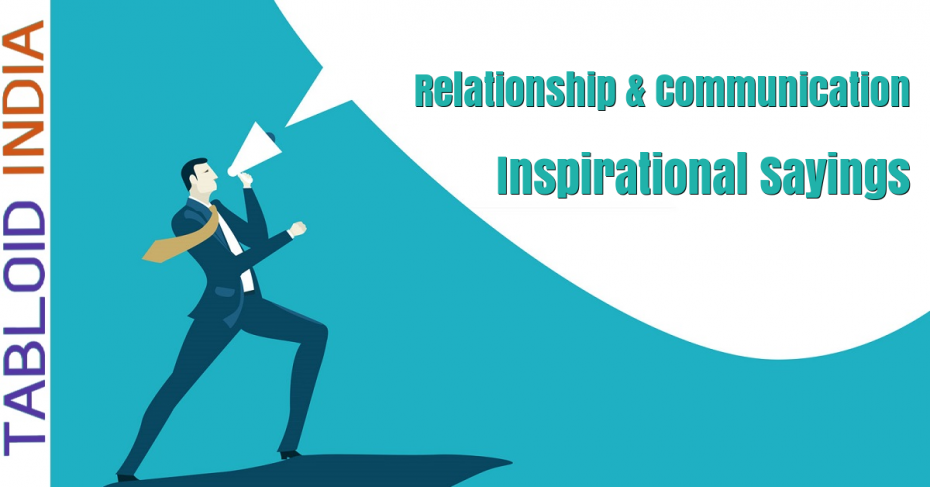 Relationship Communication Sayings by Famous People