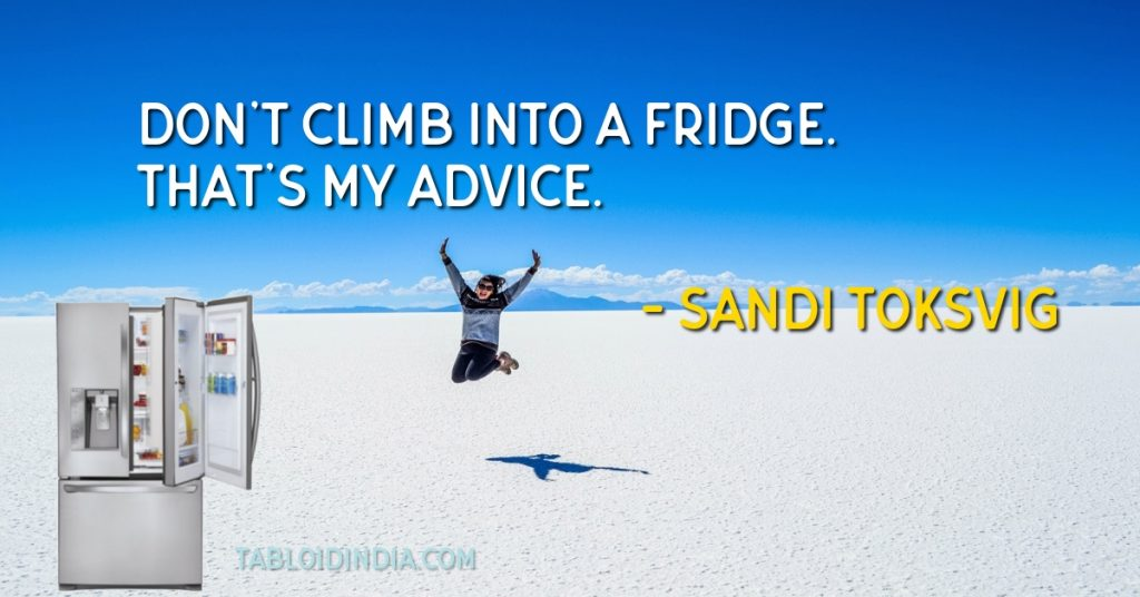 Famous quotes and saying about refrigerator