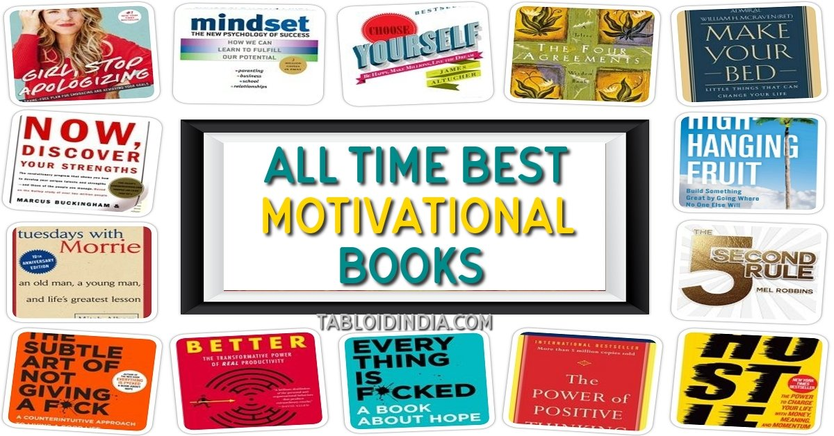 18 Must Read Motivational Books of All Time for Life Inspiration