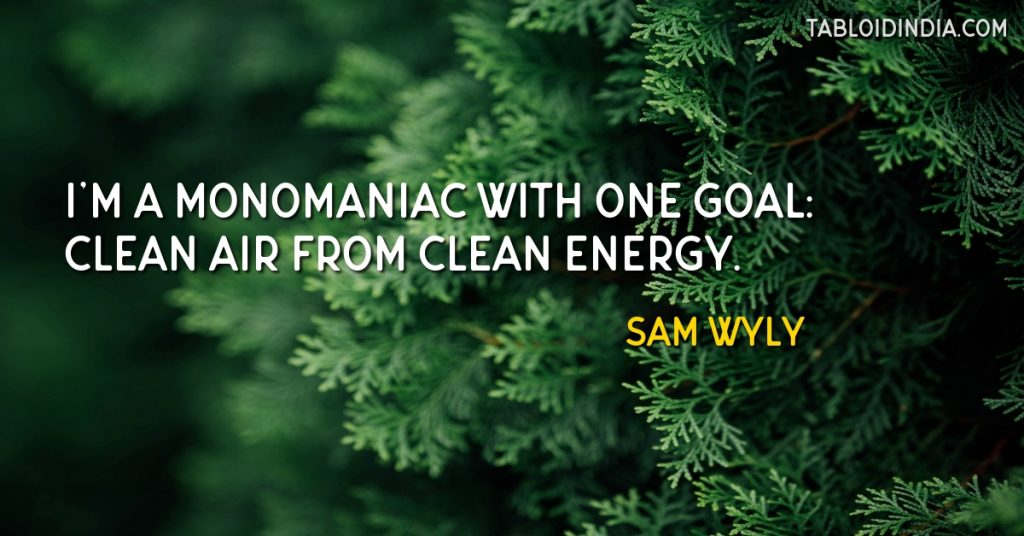 Clean air quote