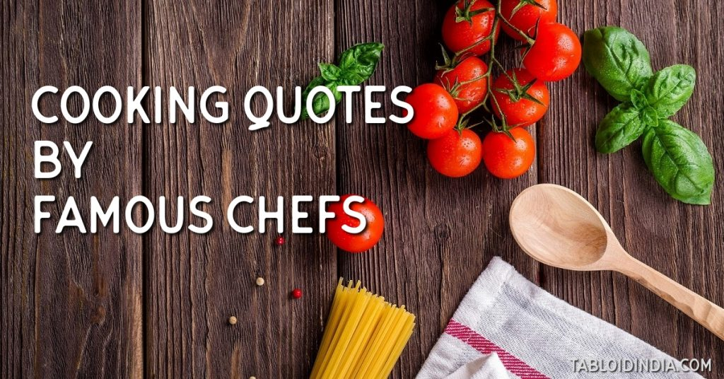 Cooking food quotes