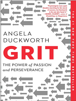 Grit: The Power of Passion and Perseverance(Author: Angela Duckworth)