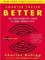 Smarter, Faster, Better (Author: Charles Duhigg)