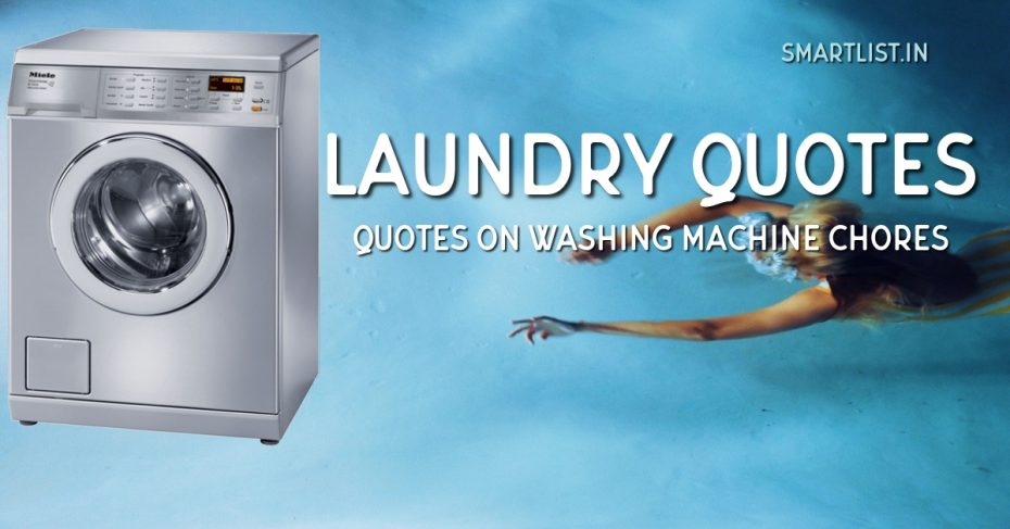 Funny Laundry and Washing Machine Quotes