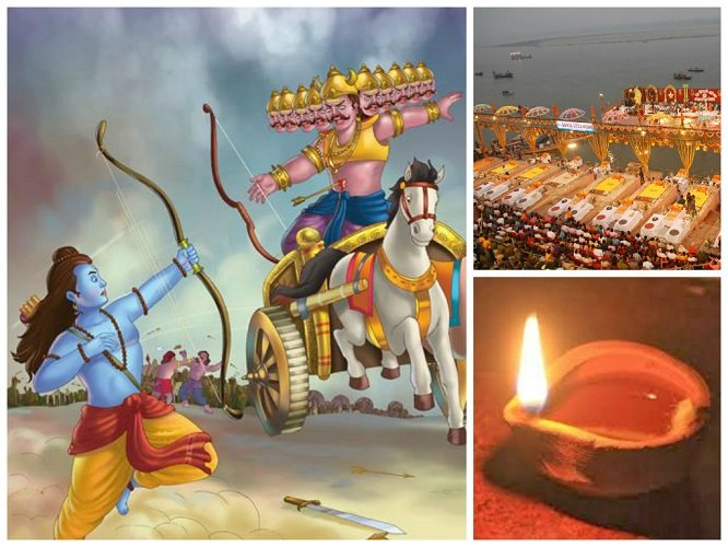 Legend of Rama's Victory from Ramayana